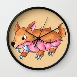 Sabertooth Piggy Wall Clock