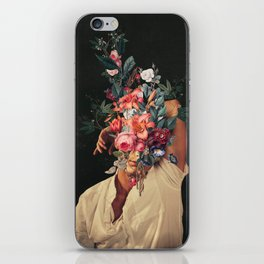 Roses Bloomed every time I Thought of You iPhone Skin