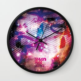 SHANHAIJING-BreadBear-HAI (Space Oddity I) Wall Clock