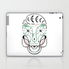 happy skull Laptop & iPad Skin