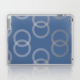 Simply Infinity Link in White Gold Sands on Aegean Blue Laptop & iPad Skin