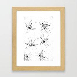 Frail Framed Art Print