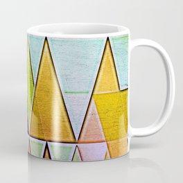 Golden Glass Peaks Coffee Mug