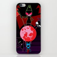 invader zim iPhone & iPod Skins featuring Invader Zim by Toyosato