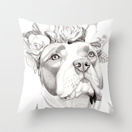 Sugar Smax Throw Pillow