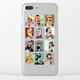 tintin and friend Clear iPhone Case