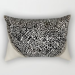 Garabato Rectangular Pillow