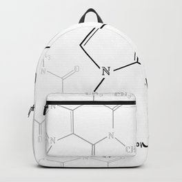 You Complete Me (Caffine Molecule) Backpack