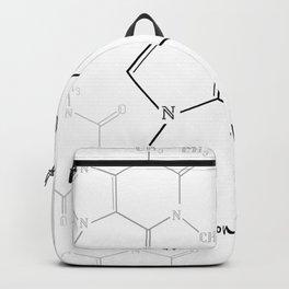 You Complete Me (Caffine Molecule) Backpack