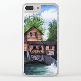 Alley spring mill Clear iPhone Case