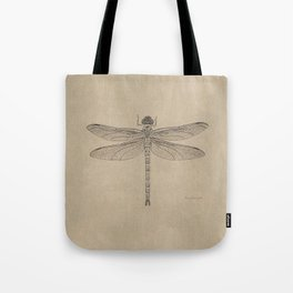 Dragonfly Fossil Dos Tote Bag