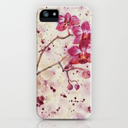 beauTEAful blooms: Orchids iPhone Case