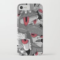 marauders iPhone & iPod Cases featuring Midday Marauders by Chent Sanchez