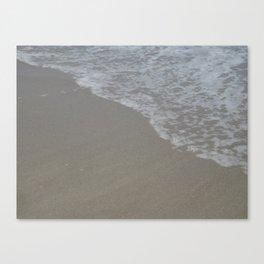 Beach Waves 5 Canvas Print