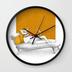 starting with a coffeebreak Wall Clock