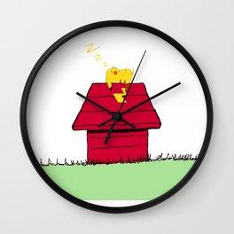 sleepachu Wall Clock