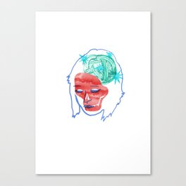 Italien girl Canvas Print