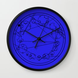 Doctor Who and his Promise Wall Clock