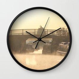 Stillness of Morning Wall Clock