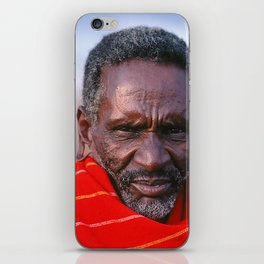 African Maasai Elder iPhone Skin
