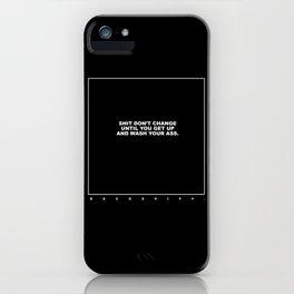 kenny (black) iPhone Case
