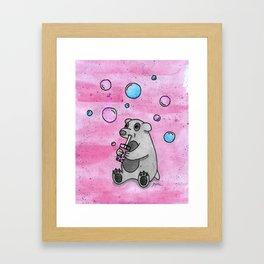 Bubble Tea #2 Framed Art Print