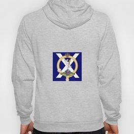 Emblem of British Army 32nd Scottish Signal Regiment Hoody