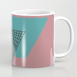 Triangular Grid - Sacred Geometry Coffee Mug