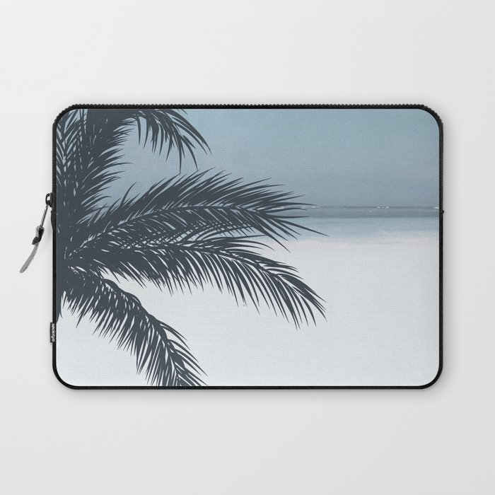 Palm and Ocean Laptop Sleeve