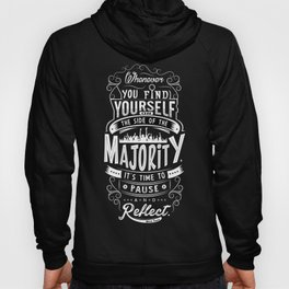 Lab No. 4 Whenever You Find Yourself Mark Twain Quotes Hoody