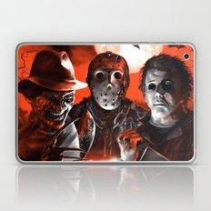 Freddy Krueger Jason Voorhees Michael Myers Super Villians Holiday Laptop & iPad Skin