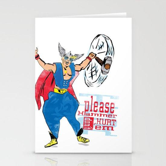Please Hammer Don't Hurt 'Em Stationery Cards