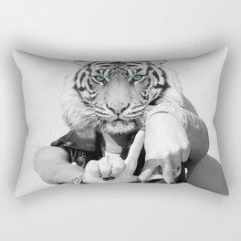 TIGER GIRL Rectangular Pillow