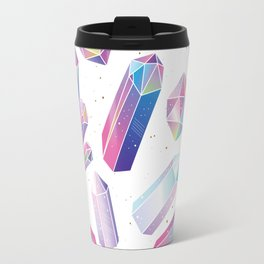 Purple Crystals Travel Mug