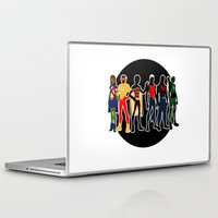 justice league Laptop & iPad Skins featuring The Original Young Justice Team by wasabinokiki
