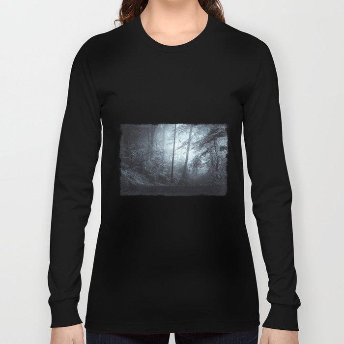 Blue Mystic ForesT Long Sleeve T-shirt