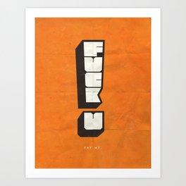 FUPM Art Print