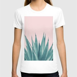 Blush Agave Dream #1 #tropical #decor #art #society6 T-shirt