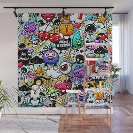 graffiti fun Wall Mural