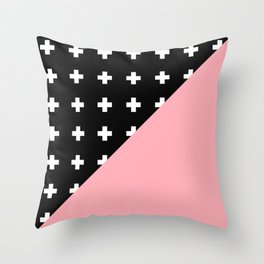 Memphis pattern 79 Throw Pillow