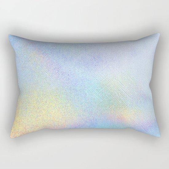 Holographic Iridescence Rectangular Pillow