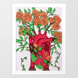 Rose Propagation Art Print