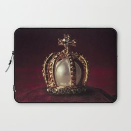 Golden Crown Laptop Sleeve