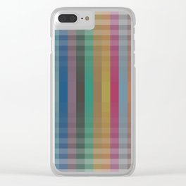 kolor v.3 Clear iPhone Case