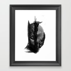 Braking Bat Framed Art Print
