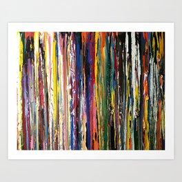 Running Color Art Print
