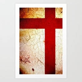 England World Cup Art Print