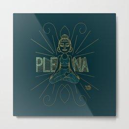 Plena Metal Print