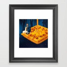 Bitchin' (Blue) Framed Art Print