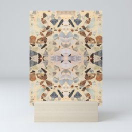 Terrazzo Rorschach Testing Mini Art Print